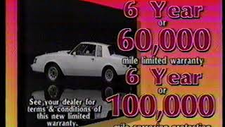 1987 Central Iowa Buick Dealers