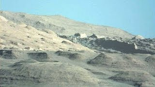 Amazing! New photos Of Curiosity Nasa, Beautiful Blue Sky Of Mars, Dec 2013