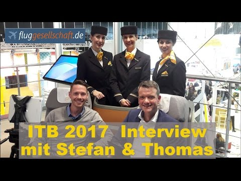 ITB 2017 Interview mit Stefan vom Aviation & Travel Vlog Globaltraveler.TV
