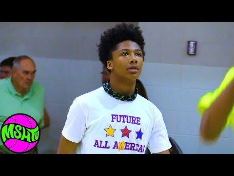 7th Grade Guard DUNKS EVERYTHING - Mikey Williams Day 2 at 2018 Primetime Showcase