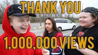 I CANT BELIEVE IT! 1,000,000 VIEWS ON A VIDEO I MADE