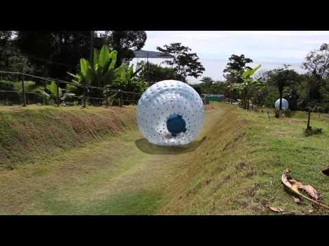 Phuket Attractions - Rollerball Zorbing Phuket