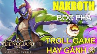 Nakroth phong cách Bộc Phá đi troll game hay gánh team: Chúc mừng năm mới AE Liên quân