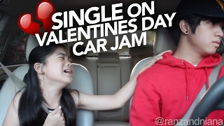 Valentines Day Single Car Jam | Ranz and Niana Video
