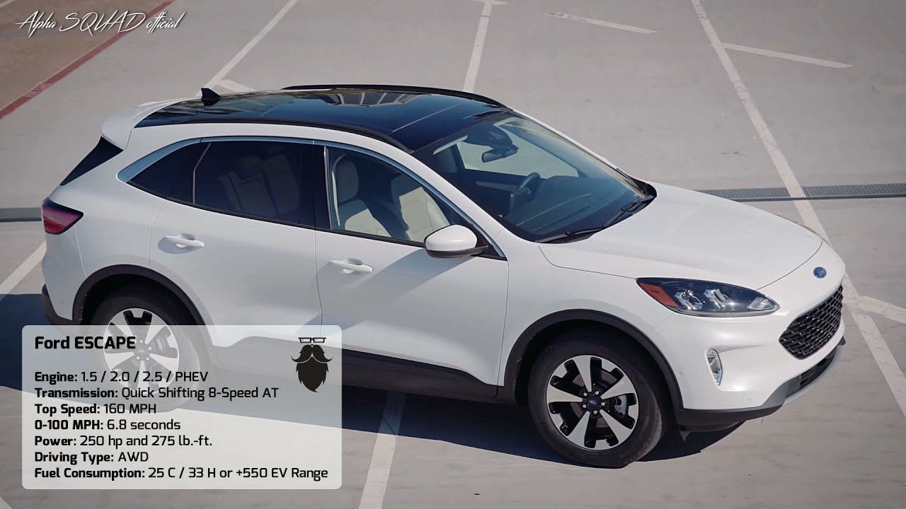 2020 Ford Escape Ford Kuga 2020 All New Ford Escape 2020 Youtube
