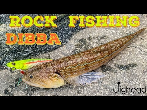 JIGHEAD TV: Rock Fishing With Metal Jigs - Diba, Fujairah