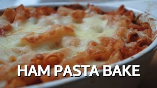 Ham And Tomato Pasta Bake - Student Recipe
