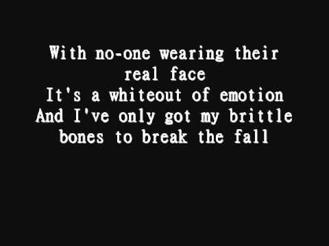 Poets of the fall  war Lyrics Alan Wake Soundtrack