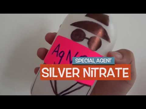 Silver Nitrate In Water