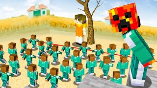 I Went UNDERCOVER in a SQUID GAME Tournament! - Minecraft
