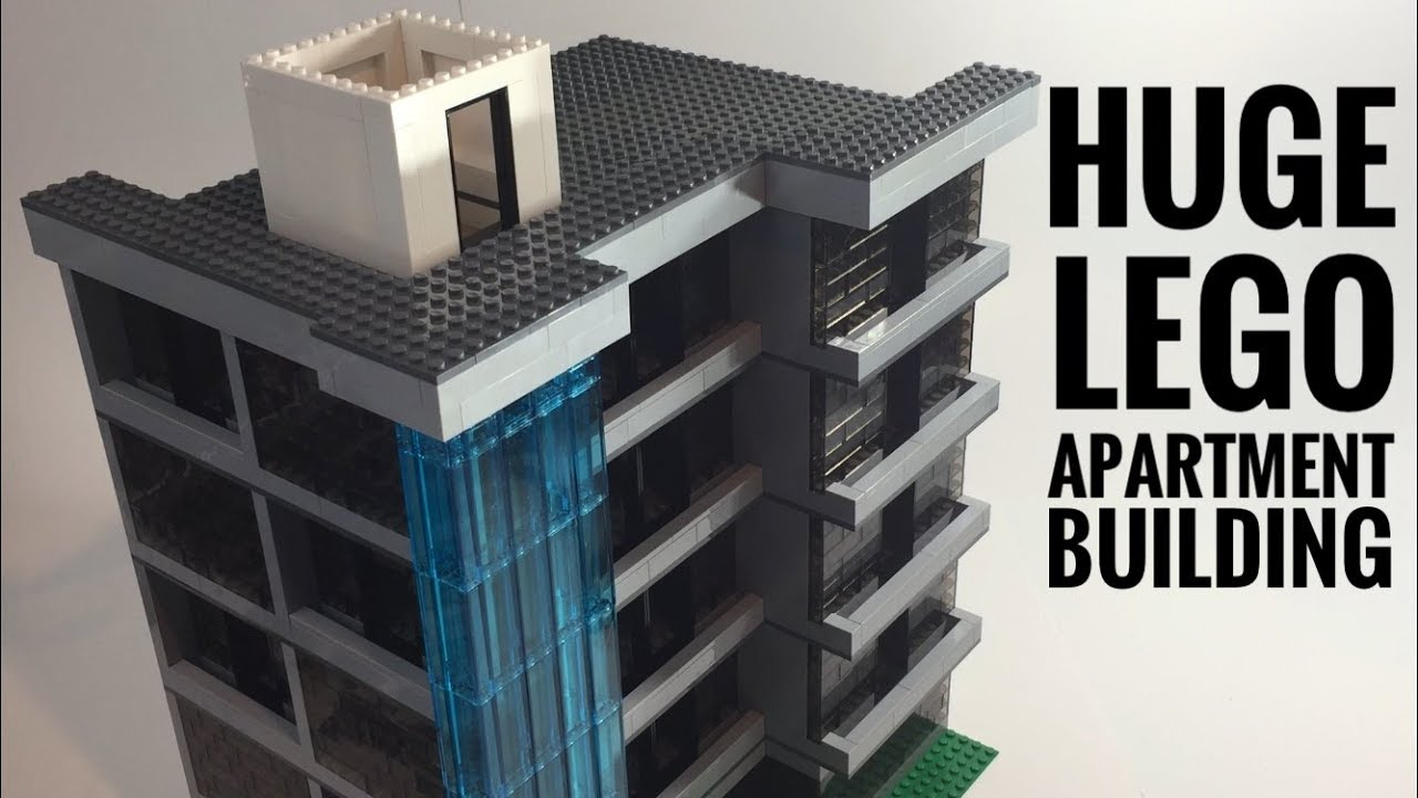 Lego Skyser And Apartments Time Lapse Build