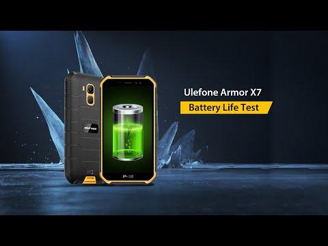 Ulefone Armor X7 Battery Life Test