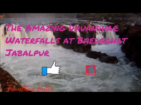 The Amazing Dhuandhar Waterfalls at Bhedaghat Jabalpur II By Travelling India II English II