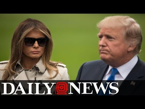 Bizarre conspiracy theory about fake Melania Trump takes over