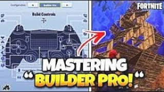 Fortnite Battle Royale - HOW TO BUILD LIKE A PRO : Builder Pro Tutorial