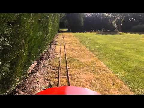 5 inch gauge garden railway homemade