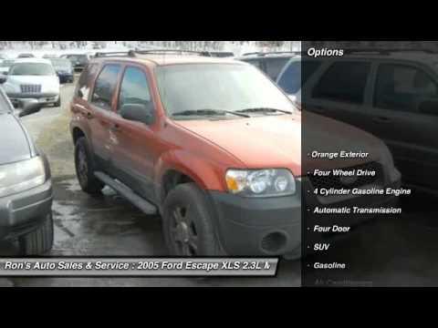 2005 Ford Escape XLS 2.3L Manual Lansford PA 18232