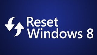 Reset Windows 8.1 without losing data [1080p]