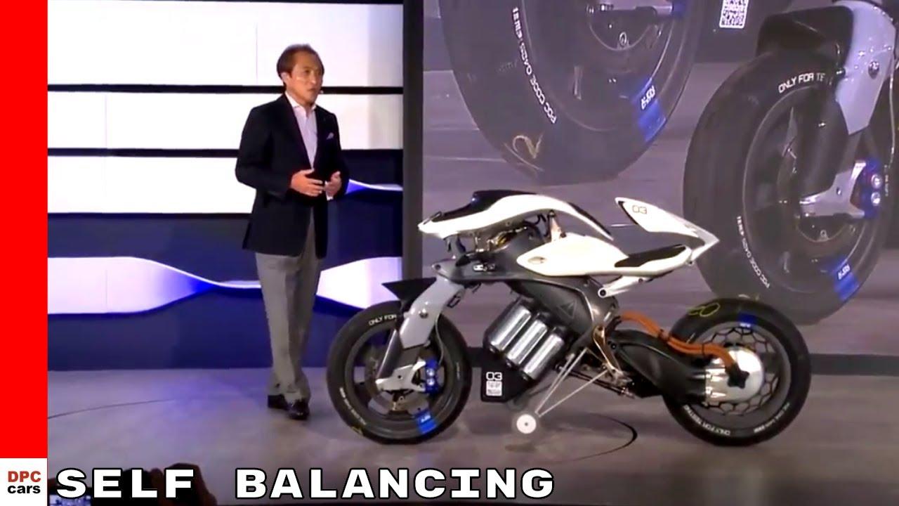 Self Balancing Autonomous Yamaha Motobot Motorcycle Youtube