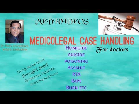 Medicolegal Case Handling Made Easy For Doctors.