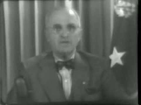 Truman Warns Japs To Give Up 1945/06/07