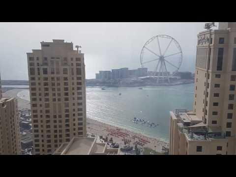 Ramada plaza penthouse Dubai and view outside
