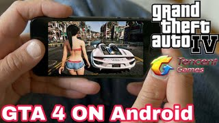 Really GTA 4 IS Coming For Android By Tencent Games