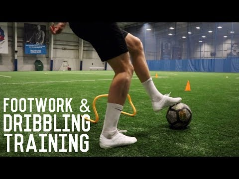 Individual Footwork, Ball Mastery & Speed Dribbling Session | Full Training Session For Footballers