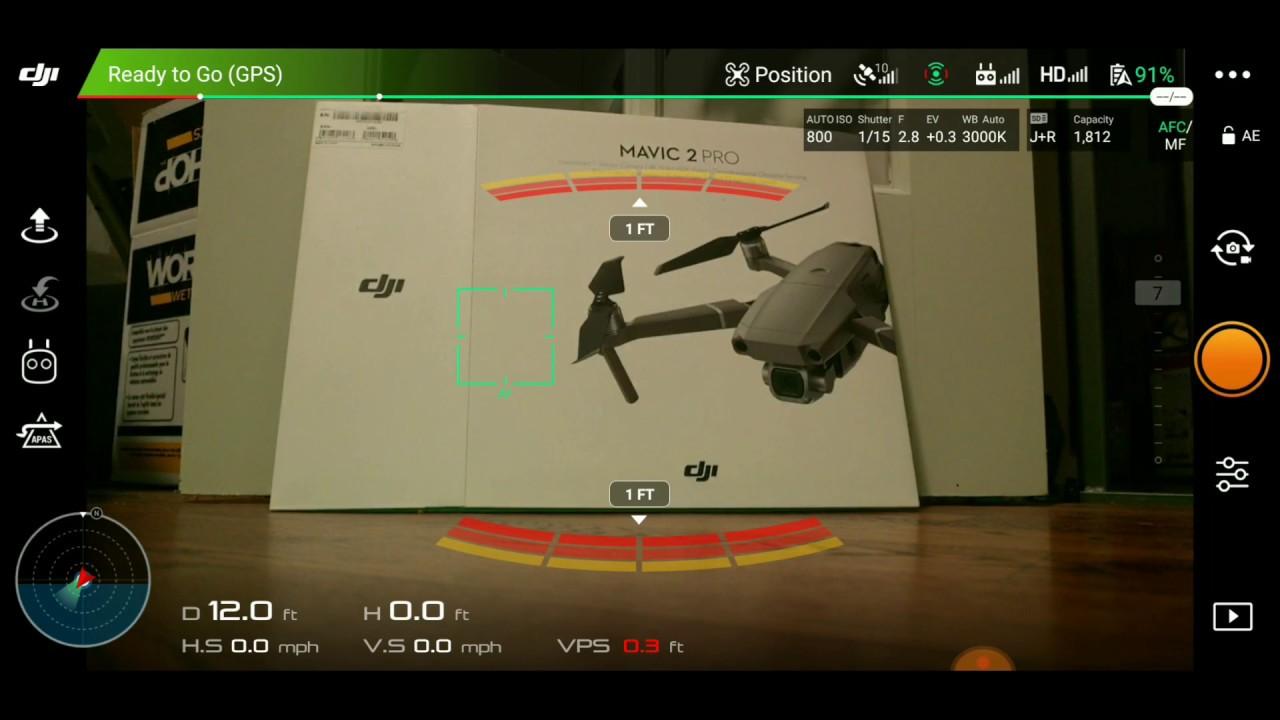 DJI Mavic 2 Pro and Zoom | How to Change Max Altitude