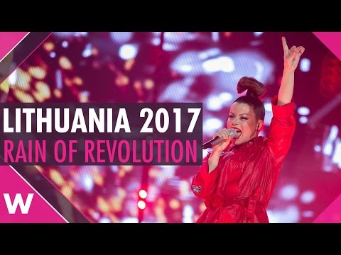 "REACTION: Lithuania's Fusedmarc to sing ""Rain of Revolution"" at Eurovision 2017"