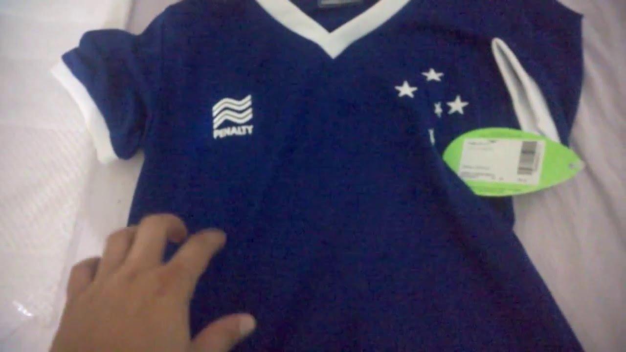 71ed2d6e9a74b Unboxing Netshoes - Camisa Penalty Cruzeiro Estilo Retrô  2 2 - YouTube