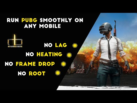 *No Lag* Run Pubg Mobile Smoothly on any device. No Heating issue