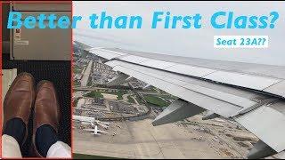 LIKE FIRST CLASS LEG ROOM  | American A321 | Chicago to Philadelphia | ECONOMY