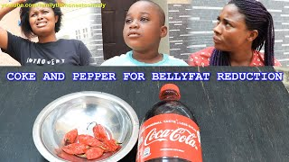 Download Marvelous Comedy - COKE AND PEPPER FOR BELLYFAT REDUCTION (Very Funny Must Watch) (Family The Honest Comedy)