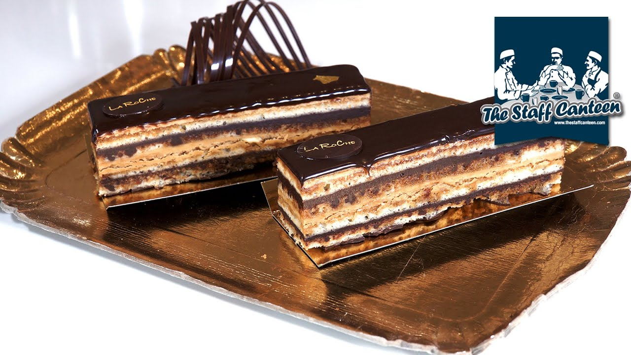 Opera Cake Decor : Harpal Pollard creates Opera with Callebaut chocolate ...