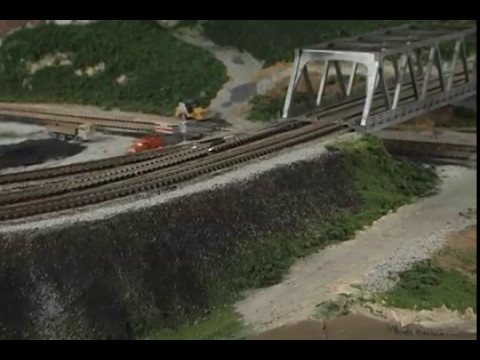Model Railroad Scenery Getting rid of that FLAT look Easy and fun
