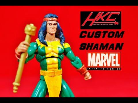 Custom SHAMAN V 2 0 Marvel Universe Alpha Flight X-men figure by Hunter  Knight Customs