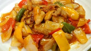 How to make Sweet n Sour Chicken (non deep fried)