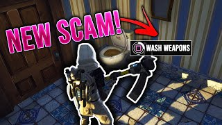 * NUEVA Estafa * La estafa de lavado de inodoro! (Scammer consigue estafado) En Fortnite Save The World