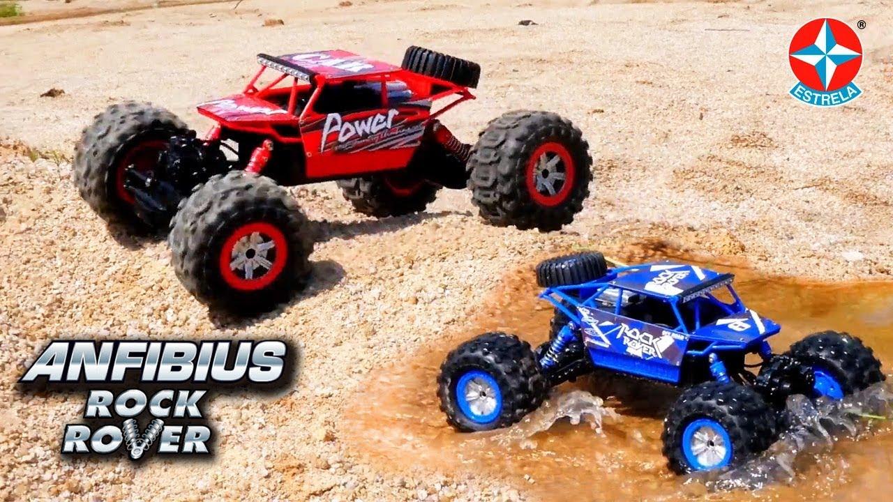 Anfibius Carrinho De Controle Remoto Brinquedos Estrela Youtube