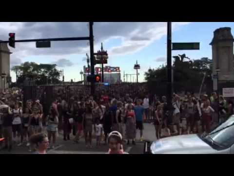 Lollapalooza Music Festival Evacuated Due to Weather