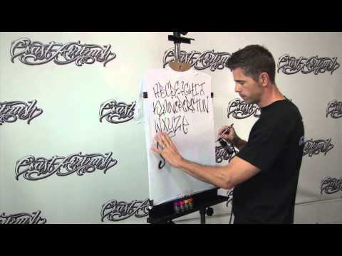 How to Airbrush T Shirts for Beginners Pt. 1 w/ Kent Lind