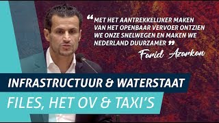 Farid Azarkan over files, het ov en taxichauffeurs