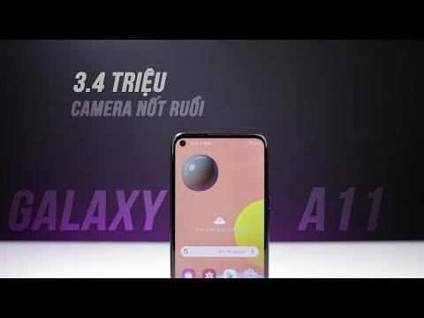 Galaxy A11 - Smartphone giá rẻ mới của Samsung
