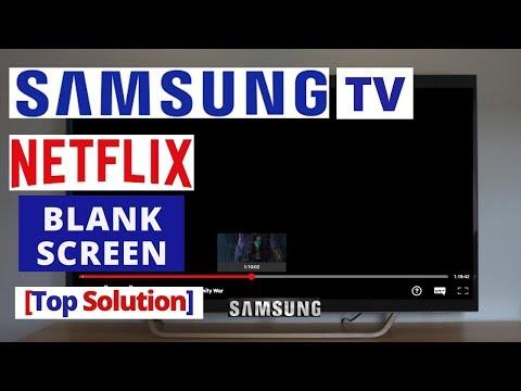 How To Fix NETFLIX Blank Screen On Samsung Smart TV || NETFLIX Samsung TV Problems & Fixes