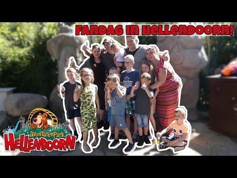 ONZE FANDAG IN HELLENDOORN !! - Broer en Zus TV VLOG #160