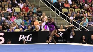 Simone Biles - Floor - 2014 P&G Championships - Sr. Women Day 2