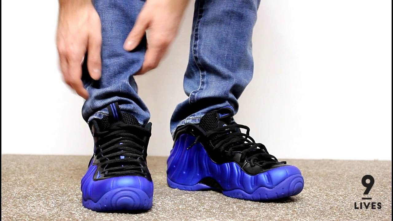 d14d6e9ce0ed7 Unboxing   On Feet Foamposite Ben Gordon Review air pro Hyper Cobalt ...