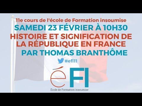 #eFi11 - Histoire et signification de la République en France