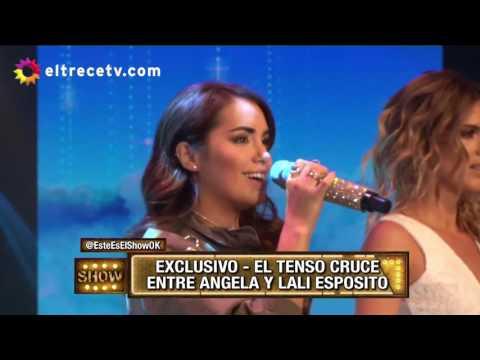 El tenso cruce entre Lali Espósito y Ángela Torres